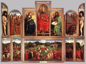 Adoration of the Lamb     Van Eyck